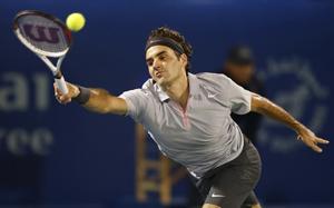 Federer trên hành trình tìm kiếm danh hiệu đầu tiên trong năm 2013.