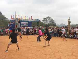 Các hoạt động thể dục – thể thao tại lễ hội Đình Xàm năm 2014.