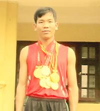 VĐV Đinh Thanh Huệ.