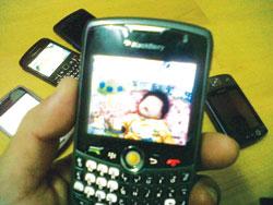 Blackberry, một trong những nhà sản xuất hàng đầu về ĐTDĐ thông minh