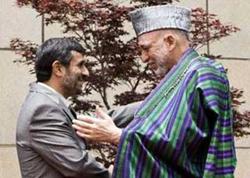 Tổng thống Mahmoud Ahmadinejad và Tổng thống Hamid Karzai.