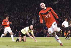 Rooney tiếp tục là nỗi ám ảnh của hàng phòng ngự Milan đêm qua.