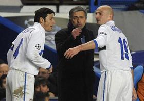 Mourinho giúp Italia lấy lại thể diện ở châu Âu.