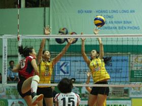 Hàng chắn có chiều sâu của Truyền hình Vĩnh Long (9-11) giúp đội xuất sắc lên ngôi ở vòng 1 Giải Vô địch quốc gia