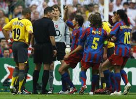 Thẻ đỏ của Lehmann chính là bước ngoặt ở trận chung kết năm 2006