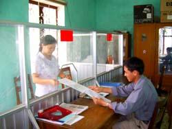 Công tác cải cách thủ tục hành chính đã đem lại nhiều hiệu quả trong hoạt động của các tổ chức chính quỳen