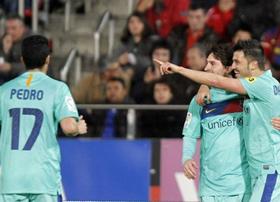 Bộ ba MVP cùng nổ súng ở chiến thắng trước Mallorca
