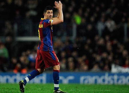 Villa lần đầu tiên trở lại với sân Mestalla, nơi đã cho anh rất nhiều thứ