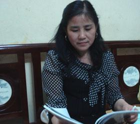Cô giáo trẻ Nguyễn Thị Thanh