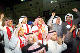 Người dân Kuwait biểu tình trong hòa bình