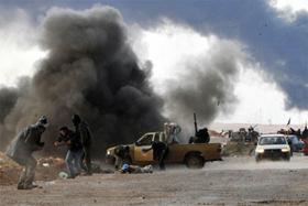 Giao tranh tại Libya.