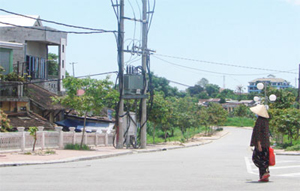 Con đường đang được đề xuất đặt tên Trịnh Công Sơn - Ảnh: B.N.L