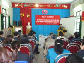 Các Đại biểu tập trung thảo luận tại Hội nghị