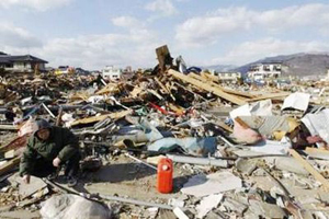 Ngày 18-3, Chính phủ Nhật Bản tiếp tục nỗ lực khắc phục hậu quả trận động đất.