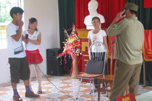 Lương Sơn đẩy mạnh các hoạt động tuyên truyền để ngăn ngừa và phòng- chống tệ nạn xã hội.