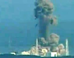 Nổ tại lò phản ứng số 3 ở nhà máy điện hạt nhân Fukushima I.