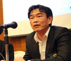 HLV Phan Thanh Hùng là thầy nội sáng nhất hiện nay - Ảnh: Quang Thắng