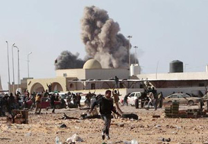 3 ngày qua lực lượng không quân, liên quân đã tấn công nhiều mục tiêu ở Libya.