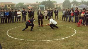 Thể thao dân tộc trong huyện luôn được thường niên không chỉ ở các giải chính thống mà còn ở nhiều lễ, hội trong năm.