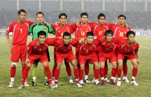 ĐT Việt Nam đã leo lên vị trí thứ 98 trên BXH FIFA
