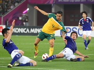 Nhật Bản từng thắng Australia ở chung kết Asian Cup 2011 (Nguồn: Zimbio)