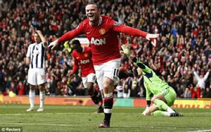 Rooney lập cú đúp trong trận đấu này.
