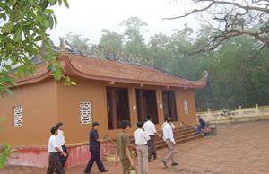 Chùa Khánh, xã Yên Thượng (Cao Phong) - điểm du lịch lịch sử, văn hóa, tâm linh hấp dẫn du khách.