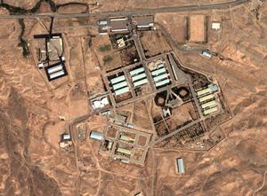 Hình ảnh căn cứ quân sự tại Parchin chụp từ ảnh vệ tinh.