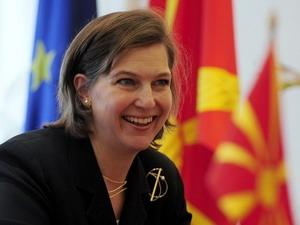 Người phát ngôn Bộ Ngoại giao Mỹ, bà Victoria Nuland. (Nguồn: Reuters)