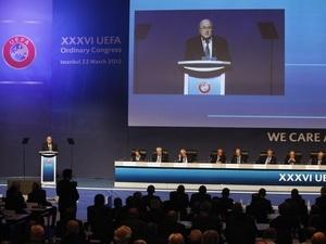 Toàn cảnh Đại hội UEFA. (Nguồn: Reuters)