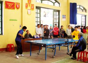 """Lứa VĐV trẻ từ """"lò"""" CLB bóng bàn thành phố Hoà Bình đã thi đấu thành công ở nhiều giải tỉnh và toàn quốc."""