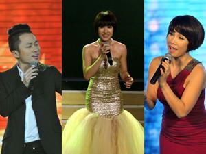 Tùng Dương, Uyên Linh, Mỹ Linh sẽ cạnh tranh trong hạng mục Ca sĩ của năm - Ảnh: Diệp Đức Minh - Độc Lập