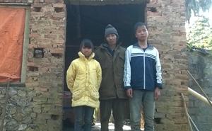Gia đình em Bùi Thị Nguyệt sống trong ngôi nhà đã xuống cấp.
