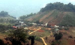 Cuộc sống mới đã bắt đầu trên vùng đất tái định cư Rổng (xã Hiền Lương - Đà Bắc).