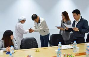 Công đoàn Công ty TNHH Doosung tech trao quà hỗ trợ 14 công nhân có hoàn cảnh khó khăn.