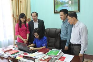 BCĐ phối hợp tuyên truyền về công tác KT,GS (UBKT Tỉnh ủy) thường xuyên cập nhật tình hình để định hướng kịp thời công tác tuyên truyền.