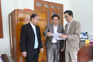 UBKT huyện uỷ Kỳ Sơn thường xuyên phối hợp với Báo Hoà Bình trong công tác tuyên truyền về công tác KTGS của Đảng bộ huyện.