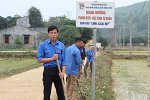 Bí thư Đoàn 8X Bùi Văn Cảnh là đại diện duy nhất của tỉnh được nhận giải thưởng Lý Tự Trọng lần này.