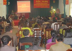 Hội nghị tập huấn công tác bầu cử tại Sở Nội vụ.