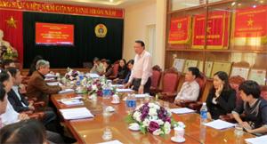 Cục trưởng Bùi Anh Tấn phát biểu tại Hội nghị.