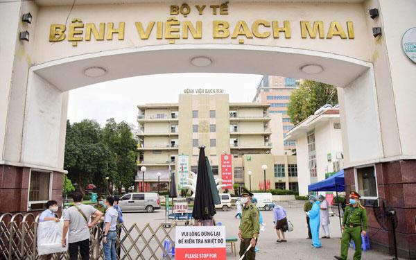 Thực hiện nghiêm túc việc giám sát y tế người về Hòa Bình từ Bệnh viện Bạch Mai