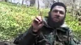Thủ lĩnh phiến quân Chechnya Doku Umarov trong đoạn băng video