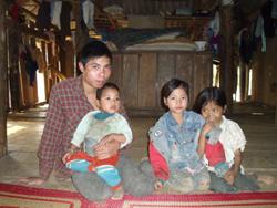 Gia đình anh Quách Văn Trịnh mong muốn nhận được sự quan tâm giúp đỡ của những nhà hảo tâm