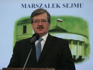 Quyền Tổng thống kiêm Chủ tịch Quốc hội Ba Lan, ông Bronislav Komorovski