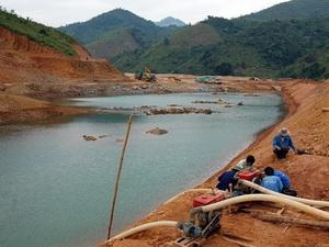 Hồ chứa nước Nước Trong.