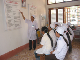 Trường Trung học Y tế Hoà Bình nâng cao chất lượng giảng dạy, bồi duỡng.
