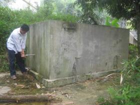 Công trình nước sạch trị giá hàng trăm triệu đồng của xã Đồng Bảng (Mai Châu) đang bị bỏ hoang, xuống cấp nhanh chóng.
