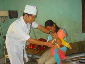Trong quý I/2010 các cơ sở y tế trên địa bàn tỉnh đã khám bệnh cho 105.876 lượt người.
