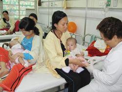 Bệnh nhân điều trị rối loạn ăn uống tại Bệnh viện Nhi Đồng 1 - TPHCM