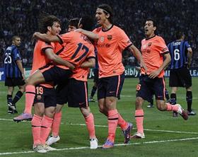 Pedro bất ngờ đưa Barca vượt lên dẫn trước.